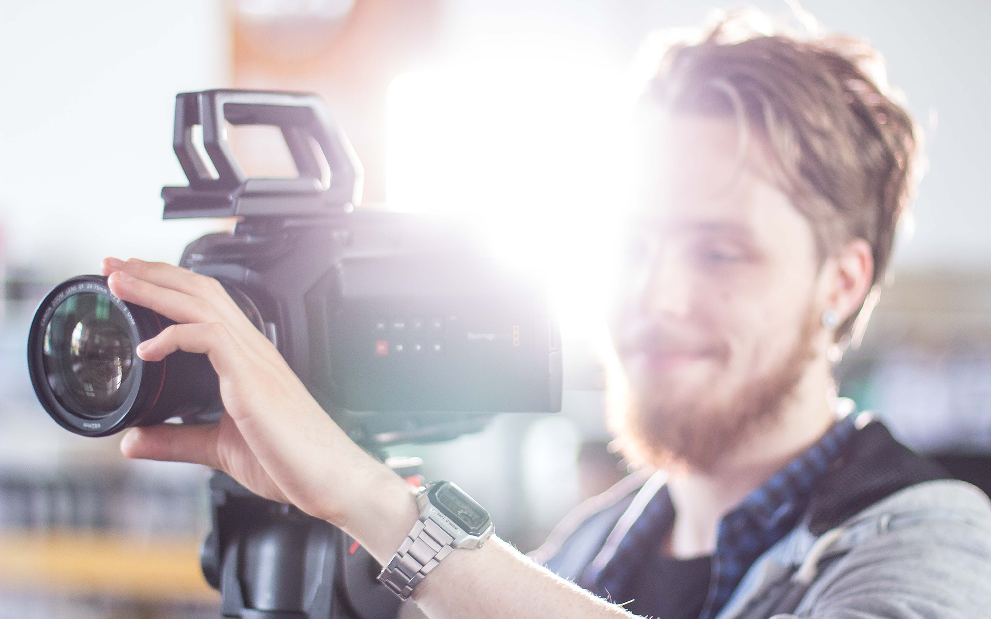 Studio and location film production for business and broadcast