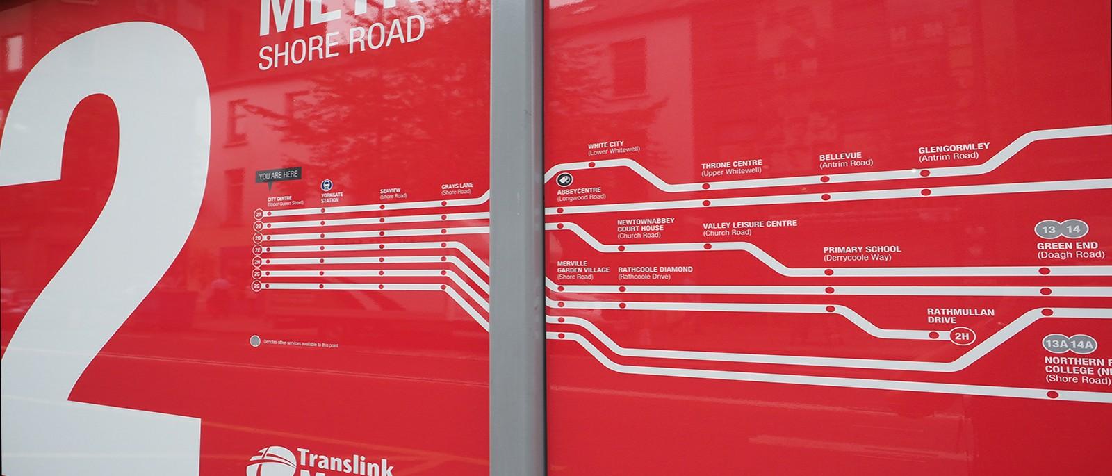 Translink Metro wayfinding project