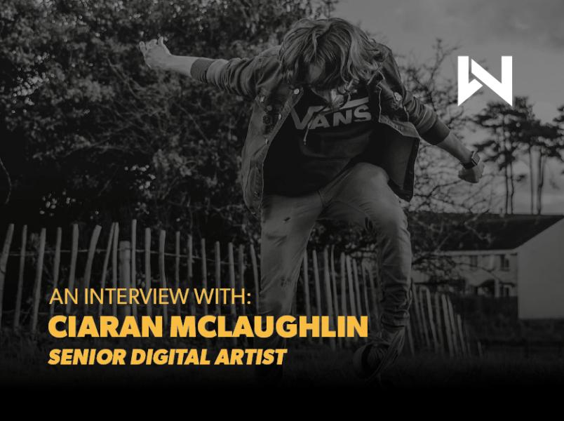 An Interview with Senior Digital Artist Ciaran thumbnail